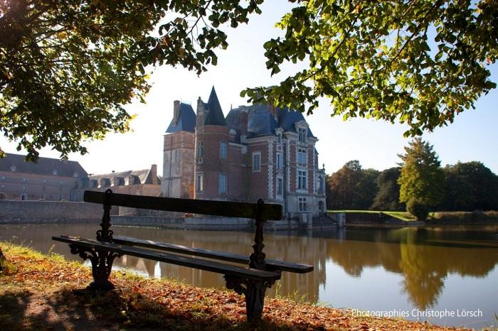 Chateau_Bussiere_Loiret_automne