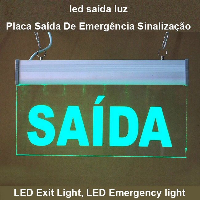 Placa-Saida-De-Emergencia-Sinalizacao-Efeitos-De-Luzes-Led-Emergency-Light-Led-font-b-Exit-b